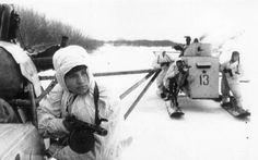 These Are The Most Amazing Snowmobiles Ever BuiltIt was used by the Soviet Union during the WWII. It was made of plywood, had a ten-millimetre armor plate on the front and a 7.62 mm DT Machine gun.