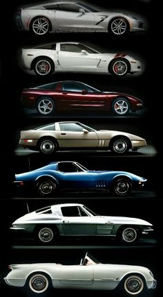 Corvette Evolution...Brought to you by #House of #Insurance in #EugeneOregon.
