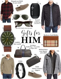 Dear Santa Best Gifts For Him Gift Guide Father