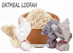 indianbeautyspot.com Oatmeal loofah for a smooth skin