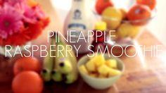 WEB: Pineapple Raspberry Smoothie