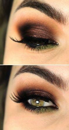 Never tried to bring the green out in my eyes.. This looks like a good way to do that