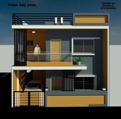 2bhk House Plan, Model House Plan, House Layout Plans, Small House Plans, House Layouts, Single Floor House Design, Bungalow House Design, House Front Design, House Elevation
