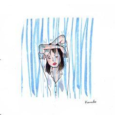 """""""Pluie coude"""" oui oui ça existe, mais uniquement en Japonais. Il existe 50 appellations différentes pour la pluie. Notre préférée est…"""