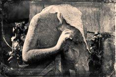 Headless Cemetery Angel