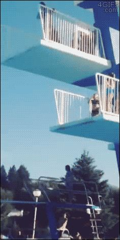 This last-second bail. | 48 Ideas That Completely Backfired