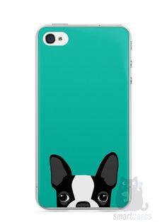 Capa Iphone 4/S Cachorro Bulldog Francês #3 - SmartCases - Acessórios para celulares e tablets :)