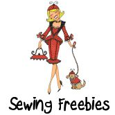 Ooooohhhh, free sewing patterns!!! I always love finding my readers free stuff!