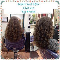 Bildresultat för deva cut before and after Haircuts For Curly Hair, Curly Hair Cuts, Medium Hair Cuts, Long Curly Hair, Long Hair Cuts, Curled Hairstyles, Wavy Hair, Long Hair Styles, Curly Girl
