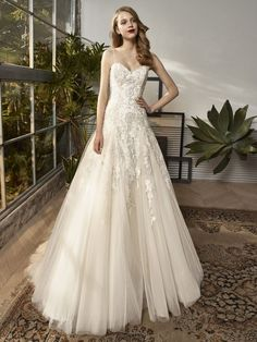 Beautiful by Enzoani - BT18-15 | Jaehee Bridal Atelier    #aline #sweetheart #straps #bridal #weddingdress