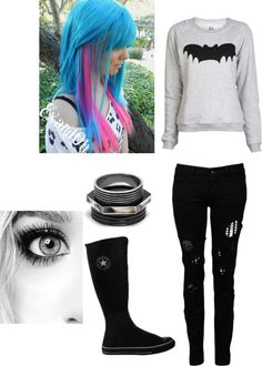 """taking over'"" by naruhina2 ❤ liked on Polyvore"