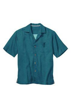 Tommy Bahama 'San Clemente' Silk Camp Shirt (Big & Tall)