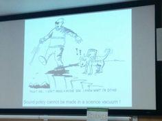 Em um seminário sobre políticas ambientais