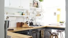 Don't let anyone ever tell you that small kitchens can't be mighty.