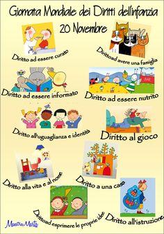 Schede didattiche diritti dei bambini schede per scuola bambini schede didattiche e bambini for Maestra gemma diritti dei bambini