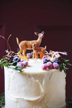 Red Velvet Woodland Cake   La Pêche Fraîche