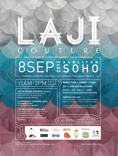 Laji Couture by Sarah Colobong, via Behance