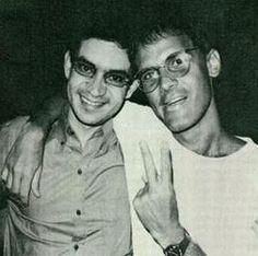 Renato Russo e Cazuza, mais que poetas... AMIGOS!