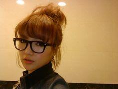 more glasses w/bangs