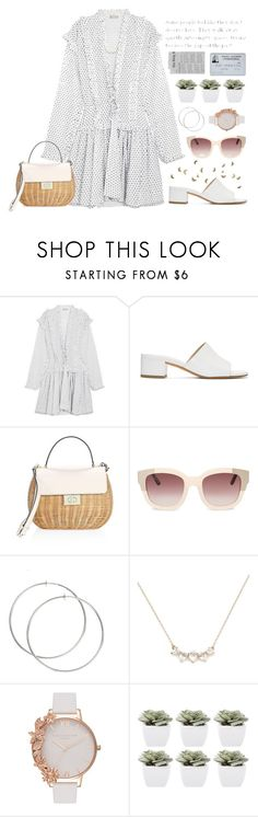 """Untitled #1708"" by outfitreport ❤ liked on Polyvore featuring Alaïa, Maryam Nassir Zadeh, Kate Spade, Olivia Burton and Abigail Ahern"