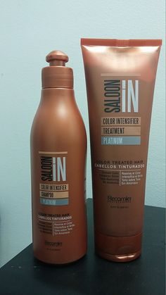 Saloon in Color Intensifier Platinum Shampoo(10.1 oz) and Treatment (8.5 oz) >>> Click image to review more details.