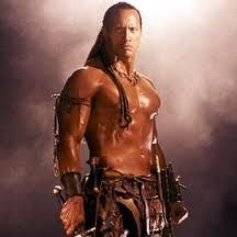 the scorpion king,,,,,the only one...