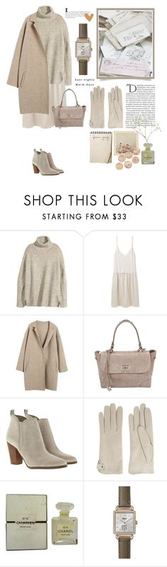 """""""#87"""" by kgarden ❤ liked on Polyvore featuring H&M, Organic by John Patrick, Ralph Lauren, MICHAEL Michael Kors, Causse, Balmain, Chanel and Shinola"""