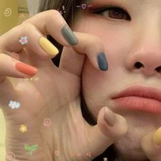 Busca y sigue publicaciones con la etiqueta seulgi icons en Tumblr Cute Nails, Pretty Nails, K Pop Nails, Red Valvet, Korean Nails, Red Velvet Seulgi, Minimalist Nails, Nail Inspo, Nails Inspiration