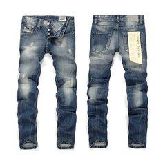 Men Plus Size Straight Disel Jeans Male Distressed Denim Pants Biker Jeans Ro Designer Bin Jeans for Men Religious Outfits