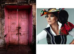 Cobblestones and Fairytales… ethnic fashion with Kate Moss