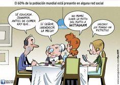 Lo que hay que hacer antes de empezar a comer... #humor #socialmedia #felizlunes