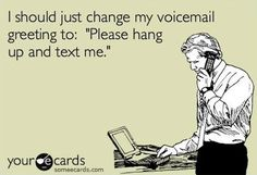 this. exactly. texting is the single best piece of technology to happen to me.