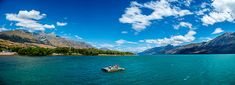 Afloat beneath the Incredibles Queenstown New Zealand