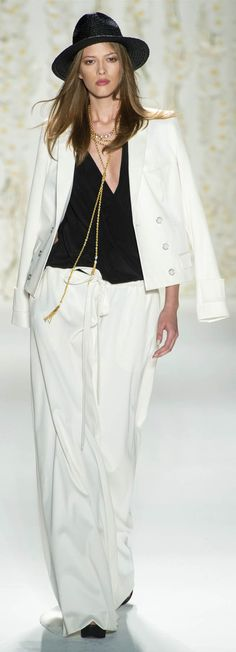 Rachel Zoe Spring Summer 2013 Ready To Wear Collection.  A few things here I would wear.