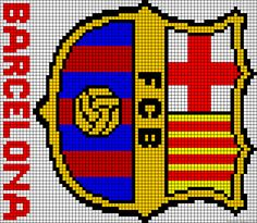 Learn to make your own colorful bracelets of threads or yarn. Get inspiration. Knitting Charts, Knitting Yarn, Knitting Patterns, Mini Cross Stitch, Cross Stitch Rose, Club Football, Alpha Patterns, Colorful Bracelets, Fc Barcelona