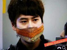 140321 KyuHyun at ICN to Beijing | Gorgeous!!! | Cr.as tagged