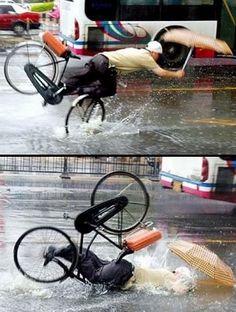 jajaja Lo mas chistoso es ver a alguien caer o no ??