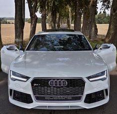 The new RS7 stands with open doors on an empty road just for you. What do you do? Car: 2016 @Audi RS7 Sportback (560hp V8 4.0 TwinTurbo) Color: Ibiz white metallic Performance: 0-100kmh 3.58sec (measured) 39 sec (official) Location: Malmö Sweden Facebook: http://ift.tt/1sUXuHP Camera: Canon Eos 5D Mark II / 24-70mm Thanks to: Audi Malmo Remember ALL my photos are available on my popular Facebook page where you can download them in their high quality. They are always posted a few hours aft...