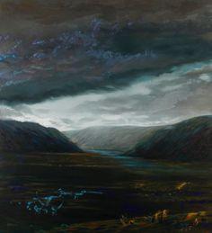 Olivier Masmonteil - Rangitata Valley NZ | Galerie Dukan