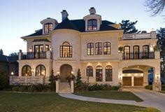 Stucco style houses