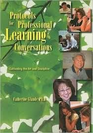 Jennifer Allen teaches protocols from this book to teacher leaders to engage in better professional conversations on everything from a shared text to looking at student work.
