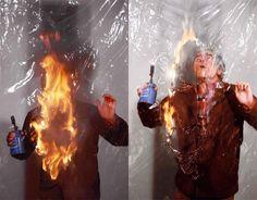 Alberto Burri; foto di Aurelio Amendola Alberto Burri, Portraits, Artists, Film, Concert, Random, Photography, Art, Movie