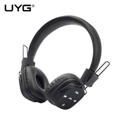 UYG wireless bluetooth headphones stereo headset leather headphone with microphone Support TF Card FM Radio for mobile phone //Price: $US $13.91 & FREE Shipping //