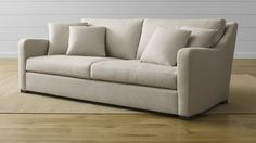 We tried and it was comfy! Does it come in sectional shape we like? Verano Sofa | Crate and Barrel