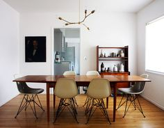dining room chairs: via the brick house blog