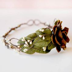 Wedding Crowns : Picture Description woodland crown bridal hair piece WINDSWEPT by whichgoose on Etsy Forest Wedding, Woodland Wedding, Fall Wedding, Dream Wedding, Wedding Ideas, Woodland Fairy, Wedding Stuff, Wedding Inspiration, Crown Hairstyles