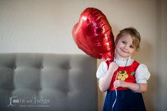 Young Girl With Vintage Dress and Heart Balloon Inside | rootsandtwigs.com Roots and Twigs | Lifestyle and Fine Art Photography in Fort Collins, Colorado and the Front Range