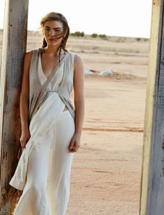 Bambi Northwood-Blyth in Outback Australia for Free People March Campaign 2016 | Spell blog