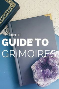 ~ Grimoires ~ From witch of lupine hollow. Grimoires and Books of Shadows are one of the more mysterious and exciting elements of witchcraft, especially. Grimoire Book, Wicca Witchcraft, Green Witchcraft, Wiccan Witch, Wiccan Books, Eclectic Witch, Baby Witch, Modern Witch, Practical Magic