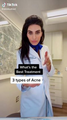 Face Care Tips, Skin Care Tips, Acne Skin, Acne Prone Skin, Maquillage On Fleek, Different Types Of Acne, Types Of Facials, Moisturizer For Oily Skin, Facial Cleanser